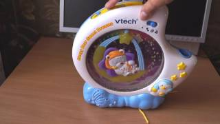 Детская игрушка ночник, светильник, проектор, фирма Vtehc, обзор