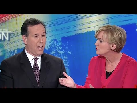 Watch Jennifer Granholm nail Rick Santorum on his hypocrisy as he attacks Bernie Sanders on jobs