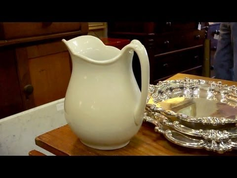 Tour of Mrs. Holder's Antiques | At Home With P. Allen Smith