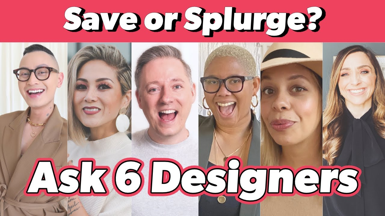 Save or Splurge | What Home Decor Items Are Worth Spending More Money On?