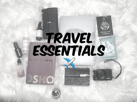 AIRPLANE /TRAVEL - WHAT TO PACK IN YOUR CARRY ON