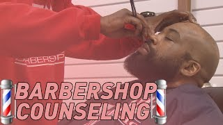 How to be counselors at the barbershop