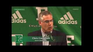 EMU Football Weekly Press Conference- Sept. 28, 2015