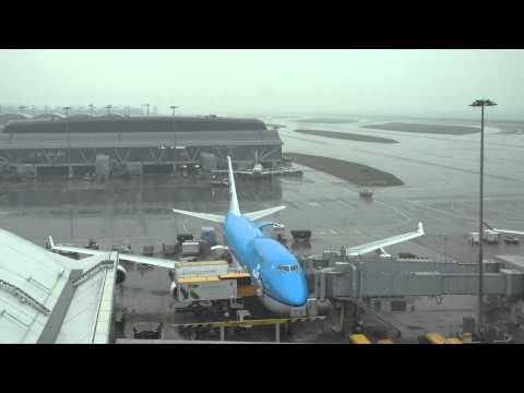 KLM 747 ph-bfs City of Seoul Turn around HONG KONG with ATC communications