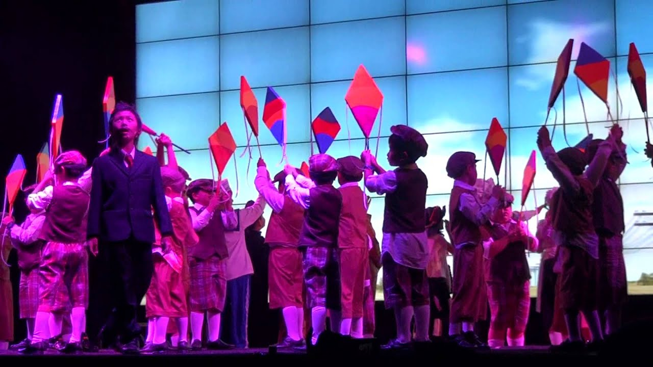 mary poppins  musical   let u0026 39 s go fly a kite by global