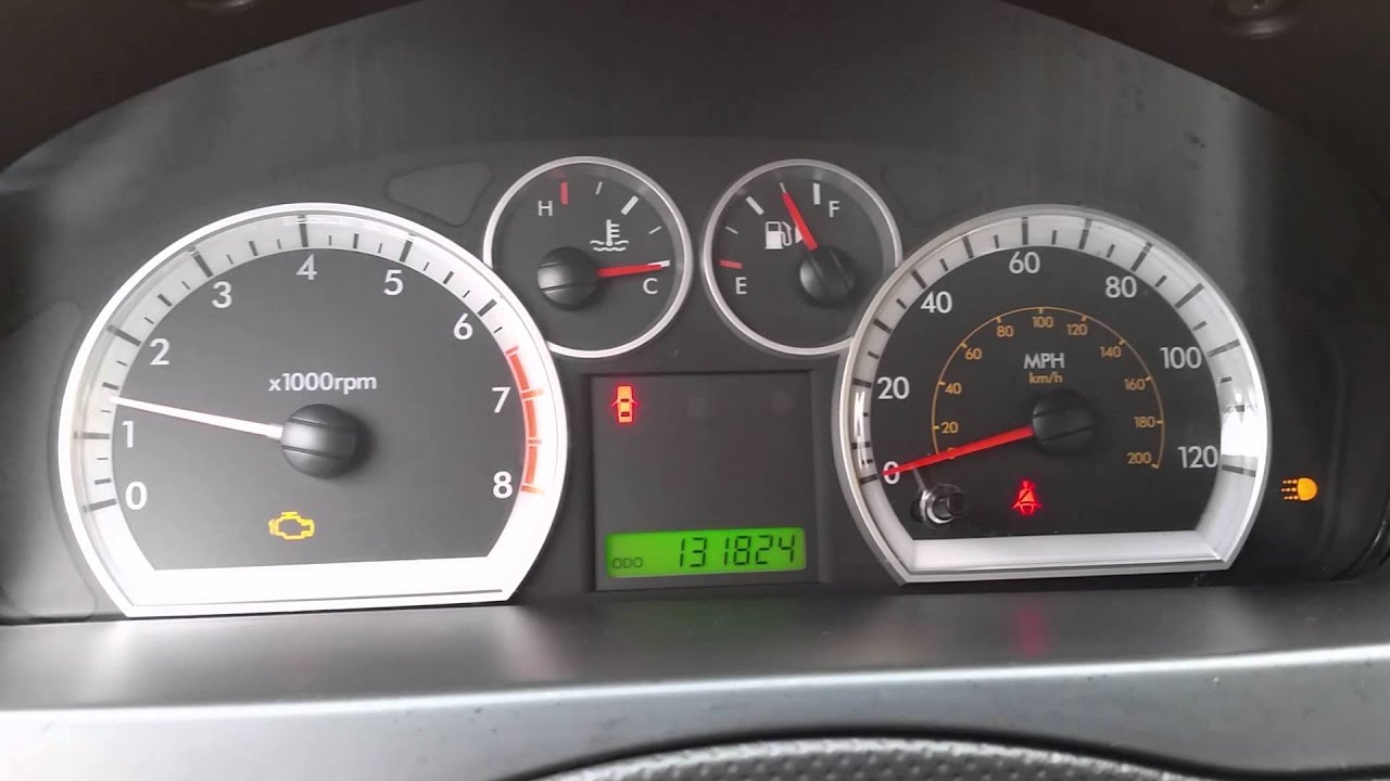 2007 2011 gm chevrolet aveo fixed gauges replaced fuse speedometer rpm fuel temp [ 1280 x 720 Pixel ]