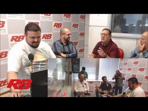 Marco Antônio Pereira é apresentado na Rádio Bandeirantes, de Porto Alegre