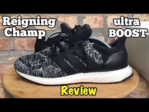 19d68e007c7a adidas x Reigning Champ Ultra BOOST review - YouTube
