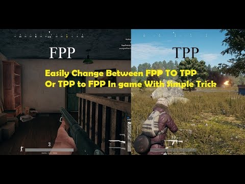 Pubg Mobile Trick Change Between Tpp To Fpp In Game Youtube - pubg mobile trick change between tpp to fpp in game