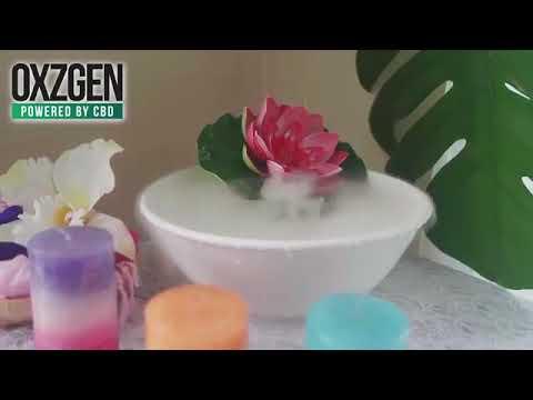 Oxzgen R&R CBD Aromatherapy Massage Oil