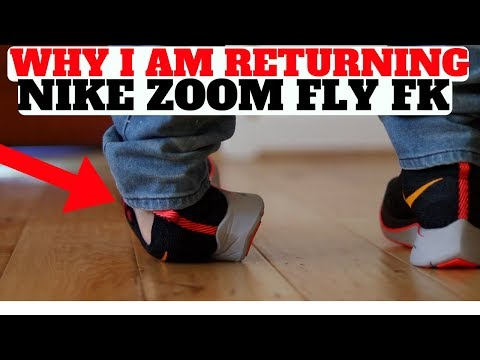 Why I RETURNED My New Nike Zoom Fly Flyknit!