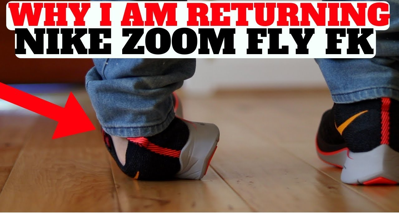 9b590f3aff4cb Why I RETURNED My New Nike Zoom Fly Flyknit! - YouTube