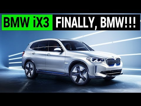 BMW iX3: Finally a Decent EV from BMW