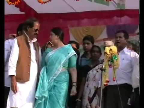 Bijnor   Nagma bursts over Congress candidate   YouTube