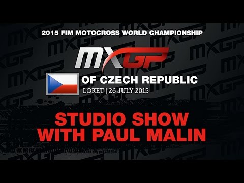 MXGP of Czech Republic Studio Show with Frossard, Brylyakov & Martens