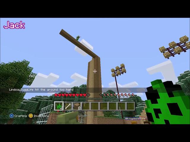 Lindsays Tower - Achievement Hunter Minecraft