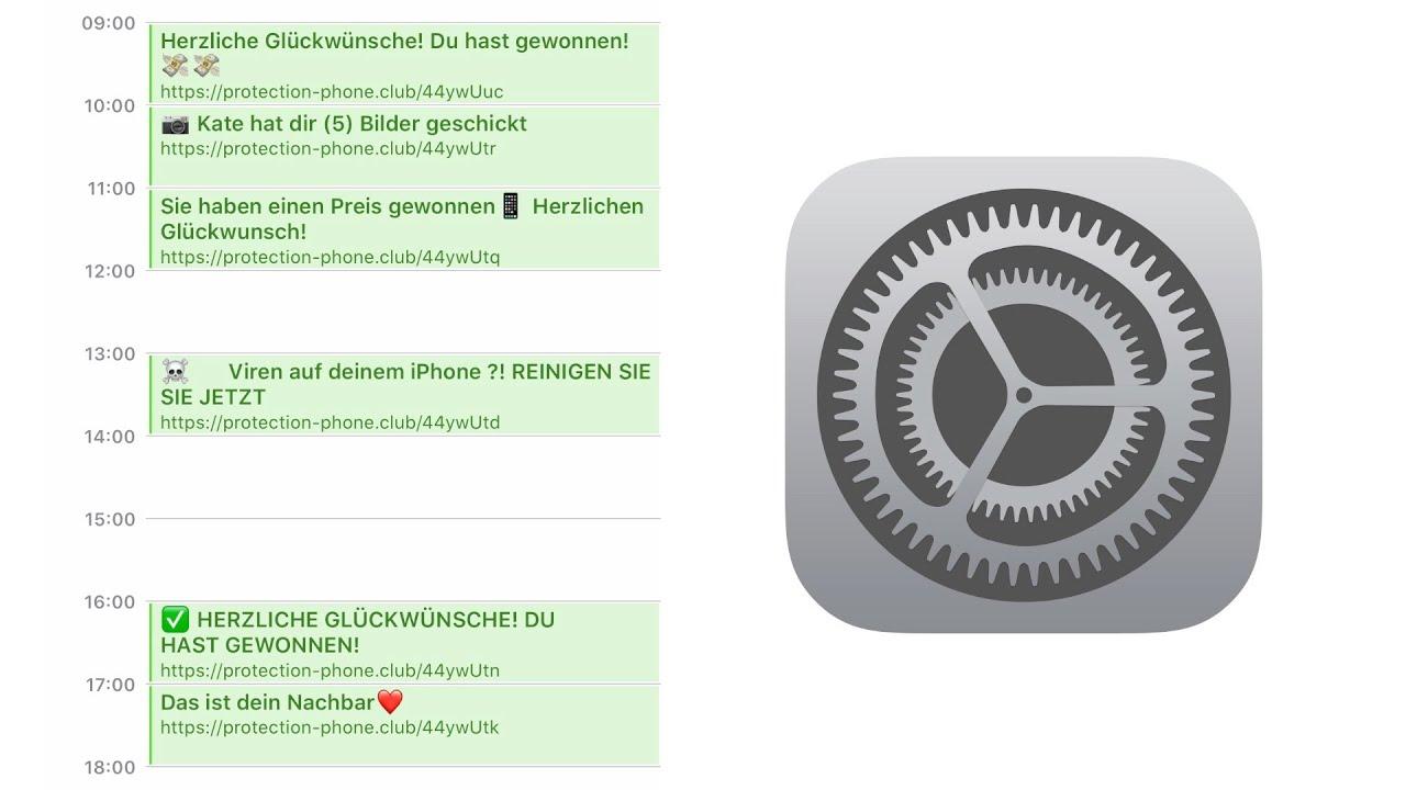 iPhone reparieren - Kalender Spam entfernen (Deutsch)