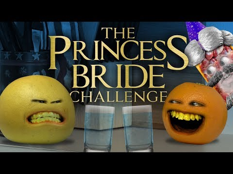 Annoying Orange - The Princess Bride Challenge Battle of Wits