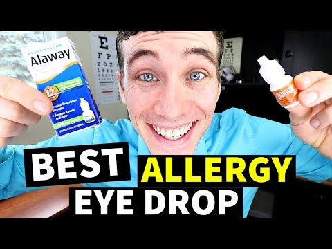 Best Allergy Eye Drops – Have You Tried These Eye Drops for Itchy Eyes?