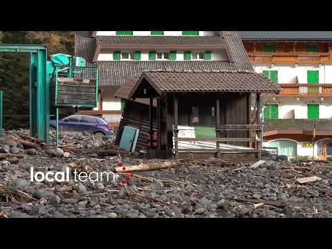 Video Alluvione Veneto, danni anche agli impianti di risalita zona Marmolada