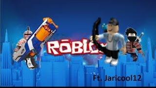 (Roblox nerf FPS ) nog meer gekte {ft Jari}