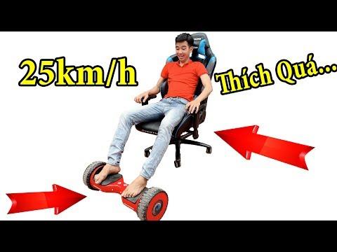 PHD   Biến Xe Điện Tự Cân Bằng Thành Xe Hơi   Self Balancing Smart Scooter