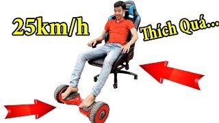 PHD | Biến Xe Điện Tự Cân Bằng Thành Xe Hơi | Self Balancing Smart Scooter