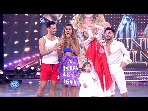 Jimena Barón y Mauro Caiazza se convirtieron en finalistas de Bailando 2018