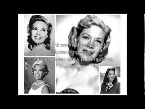 DINAH SHORE - Anniversary Song�)with lyrics