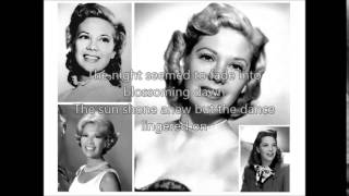 DINAH SHORE - Anniversary Song(1946)with lyrics