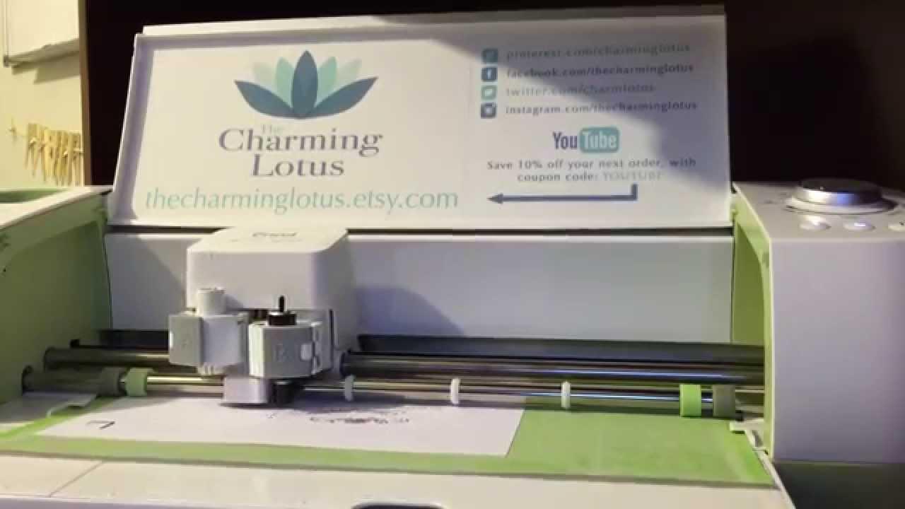how to cut not print on cricut