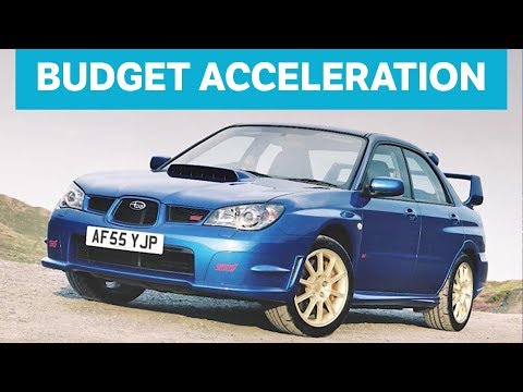 The 5 Fastest Accelerating Cars You Can Buy For Under £10,000