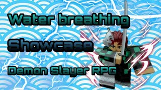 Water breathing Showcase | Demon Slayer RPG | Roblox