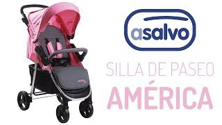 Silla De Paseo América Asalvo Baby Youtube