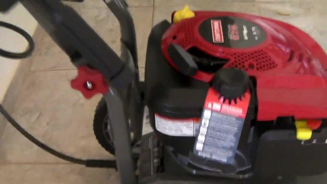 Craftsman 2500 Psi 2 3 Gpm Pressure Washer Youtube