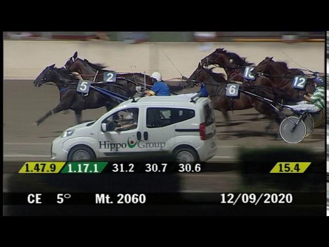 2020 09 12 | Corsa 5 | Metri 2060 | Premio Andrea Malatesta