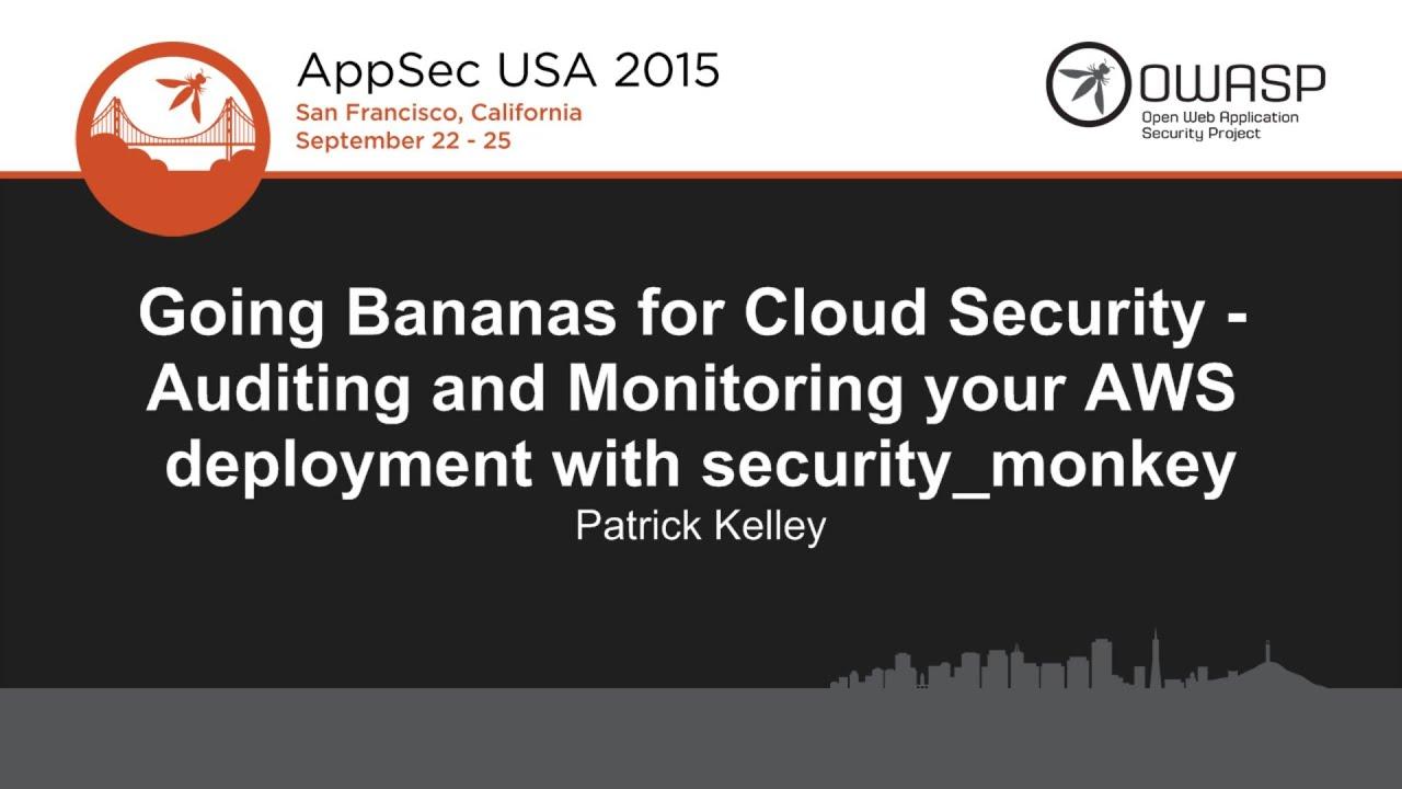 Monitor AWS & GCP Configurations: Security Monkey – DigitalMunition