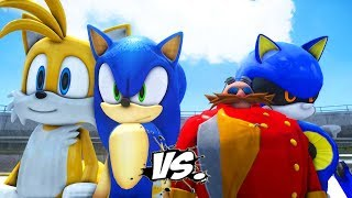 Sonic Boom Yıldızlar Ligi Araba Yarışları Final Bölümü
