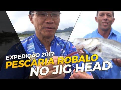 PESCARIA DE ROBALO NO JIG HEAD [IGUAPE-SP]