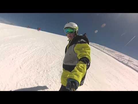 Les Deux Alpes Snowboarding 2015 GoPro