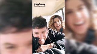 El divertido vídeo de Pablo López, Bustamante y Miriam