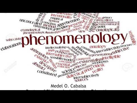 The Fundamentals of Phenomenological Research - YouTube
