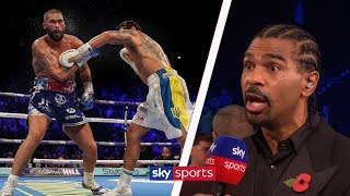David Haye reacts to Tony Bellew's defeat & discussion on whether Usyk can challenge Joshua