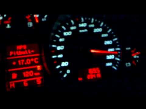 Audi R8 320 Km H Youtube