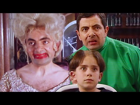 Bean Makeover | Funny Clips | Mr Bean Official