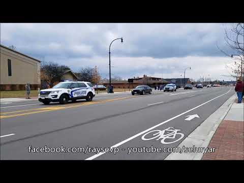 Westerville Ohio Police Officer Anthony Morelli and Officer Eric Joering Funeral Procession