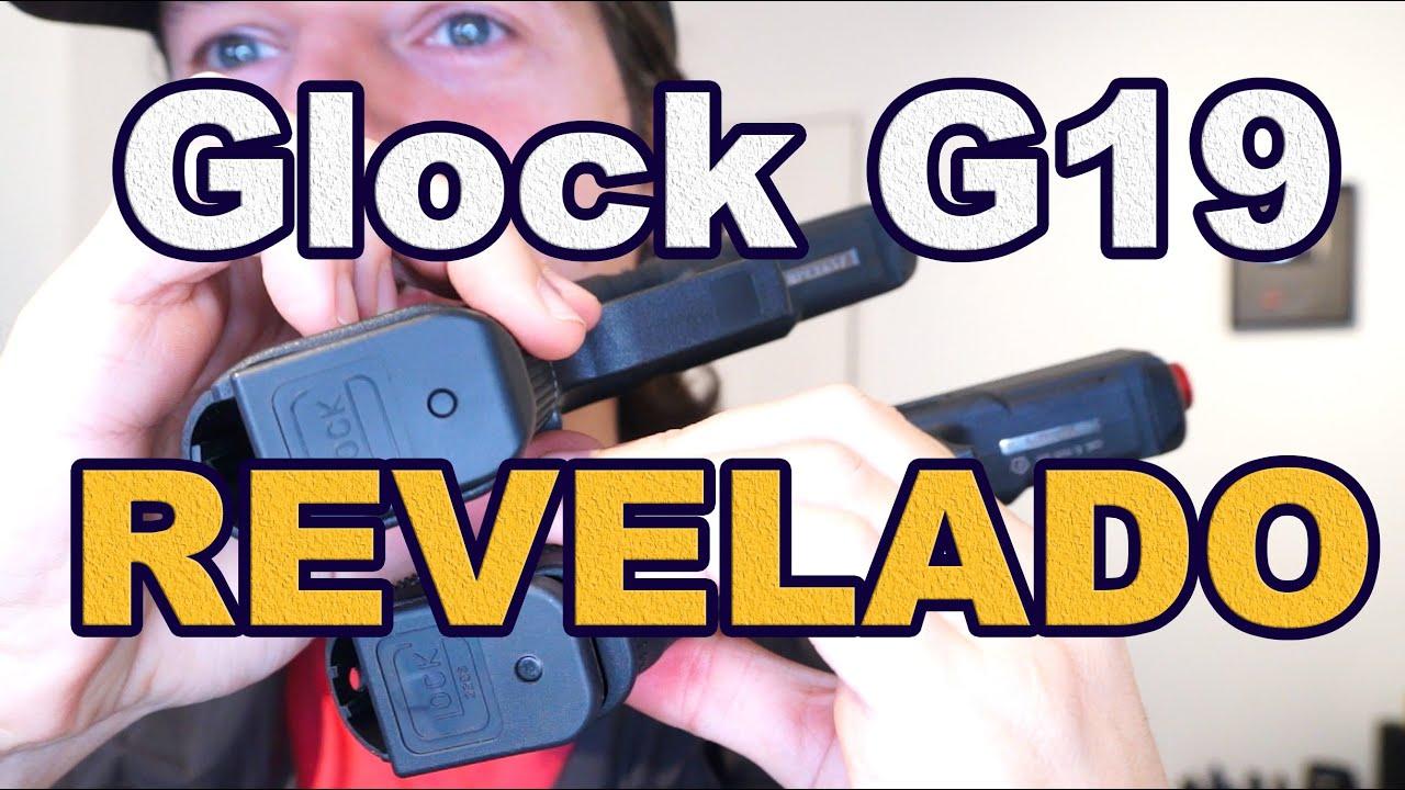 Revelado Glock19 Airsoft ou Real? CONFIRA! by Luiz Rider