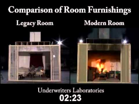 New vs Old Room Fire Final UL YouTube