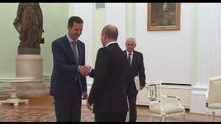 Western media enraged by Assad's 'red carpet' visit to Moscow