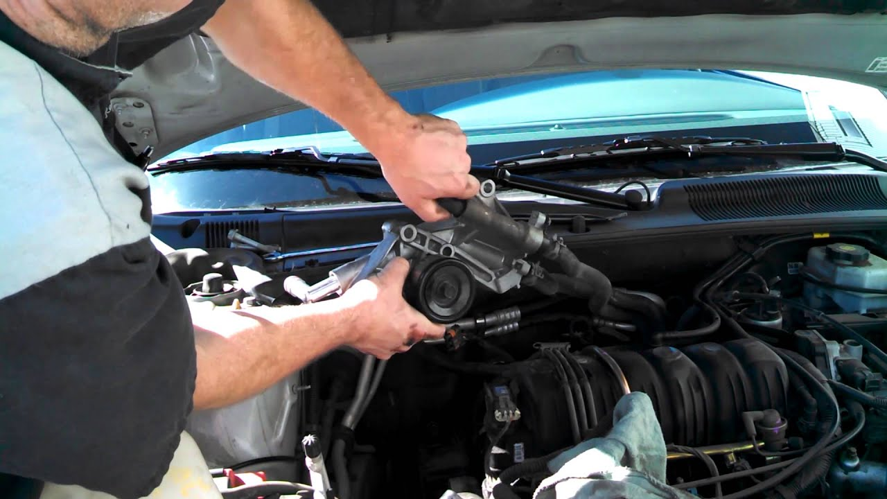 coolant elbows tubes replacement buick lesabre 2003 3800 install remove replace how to change [ 1280 x 720 Pixel ]